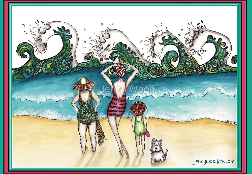 Surf's up by Jenny Wood