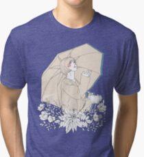 Girl's Diary Collection - Rain Tri-blend T-Shirt