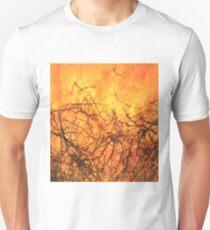 Yellow Flames - Wild Bush Fire T-Shirt