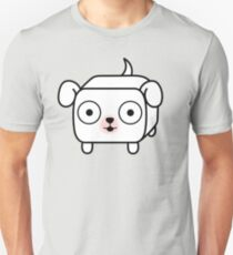 Pit Bull Loaf - White Pitbull with Floppy Ears T-Shirt