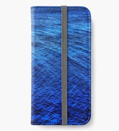 shades of blue iPhone Wallet