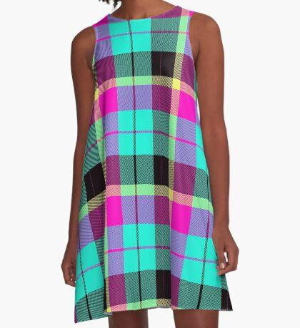 Scottish Pink by Julie Everhart A-Line Dress