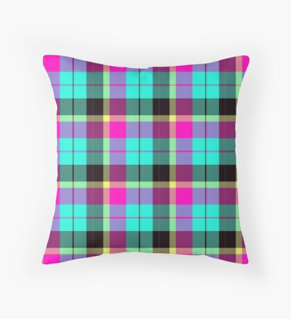 Scottish Pink by Julie Everhart Throw Pillow