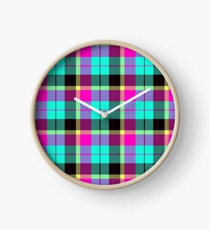 Scottish Pink by Julie Everhart Clock