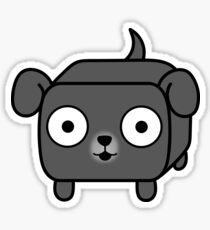 Pit Bull Loaf - Blue Pitbull with Floppy Ears Sticker