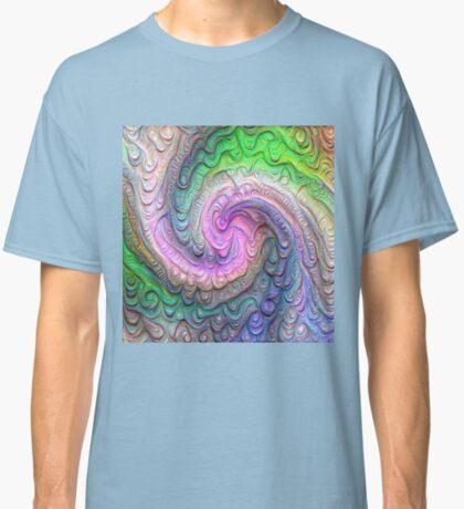 Frozen color Wave #DeepDream #Art Classic T-Shirt