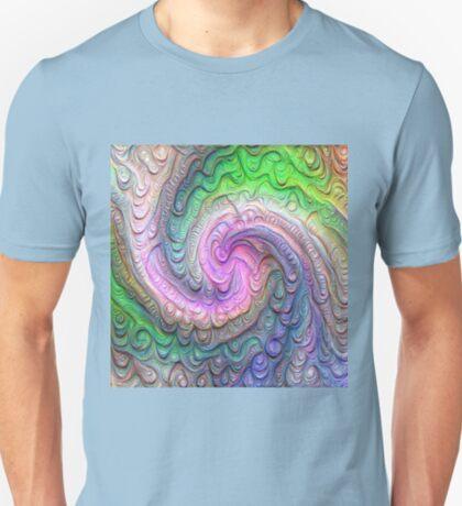 Frozen color Wave #DeepDream #Art T-Shirt