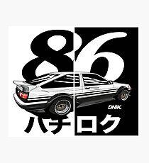 ae86 hatch 86 Photographic Print
