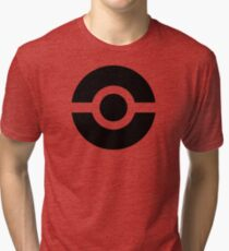 Pokeball Icon Tri-blend T-Shirt