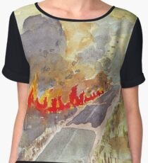 Veldfire in Magaliesburg Women's Chiffon Top