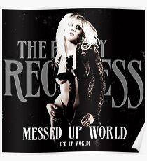 The Pretty Reckless Messed Up World Poster