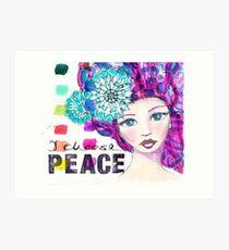 I choose peace Kunstdruck
