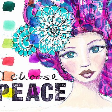 I choose peace von AngelArt444