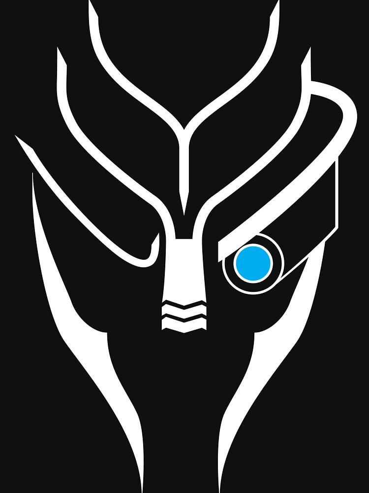 Mass Effect - Garrus (Weiß) von cassiarose