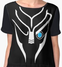 Mass Effect - Garrus (White) Women's Chiffon Top