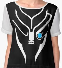Mass Effect - Garrus (White) Chiffon Top