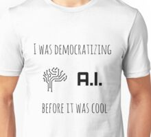 Democratizing AI Brain Version T-Shirt