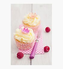 Two cupcakes Photographic Print