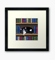 Book Love Framed Print