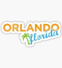 Orlando Florida - The Sunshine State Sticker