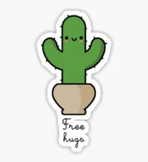 Cactus free hugs Sticker