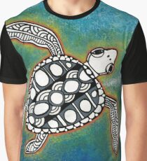 Sacred Sea Turtle 13 Graphic T-Shirt