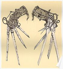 Scissorhands- Antique  Poster