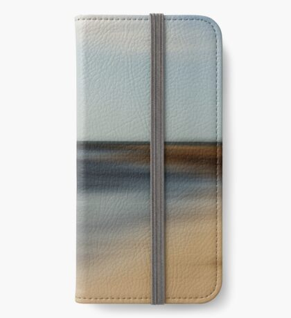 Beach Abstract iPhone Wallet