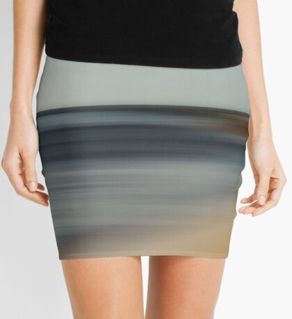 Beach Abstract Mini Skirt