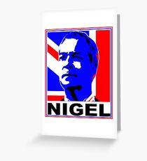 NIGEL Greeting Card