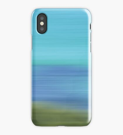 A beautiful blur iPhone Case