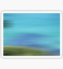 A beautiful blur Sticker