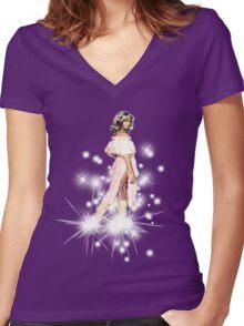 Olivia Newton-John - Xanadu - Kira Women's Fitted V-Neck T-Shirt