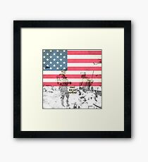 US Army Armed Forces USA Framed Print