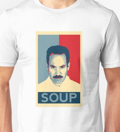 No soup for you. Soup Nazi Quote. Unisex T-Shirt