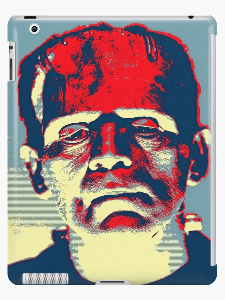 Boris Karloff in The Bride of Frankenstein by Art Cinema Gallery
