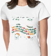 A Stream With Bright Fish T-Shirt