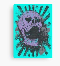 SCREAMING SKULL! SCREAMING SKULL! SCREAMING SKULL! Canvas Print