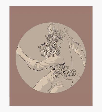 YOI: Victor - flowers Photographic Print