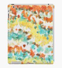 Retro watercolors iPad Case/Skin