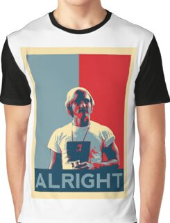 Wooderson (dazed & confused movie quote) - Alright Alright Alright Graphic T-Shirt