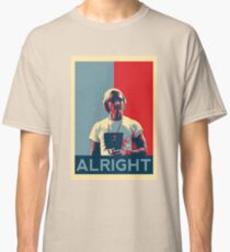 Wooderson (dazed & confused movie quote) - Alright Alright Alright Classic T-Shirt