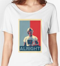 Wooderson (dazed & confused movie quote) - Alright Alright Alright Women's Relaxed Fit T-Shirt