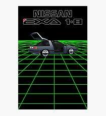 Nissan N13 Exa Coupe Photographic Print
