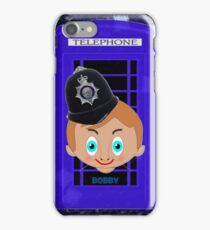 """Toon Boy 2b"" Bobby & Telephone Box iPhone case  iPhone Case/Skin"
