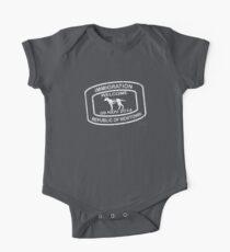 Republic of Newtown - 2014: White Short Sleeve Baby One-Piece