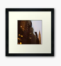Bright Lights, Big City Framed Print