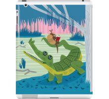 The Alligator and The Armadillo iPad Case/Skin