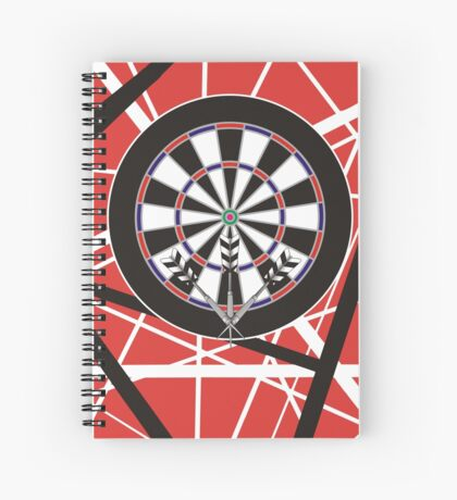 One Rockin' Darts Shirt Spiral Notebook