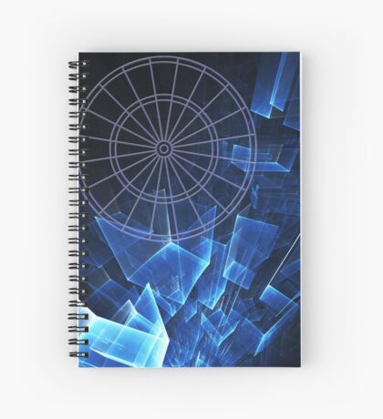 Darts Squared Spiral Notebook